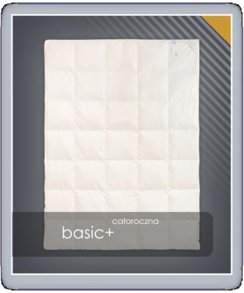 BASIC+ kołdra całoroczna puch 70%