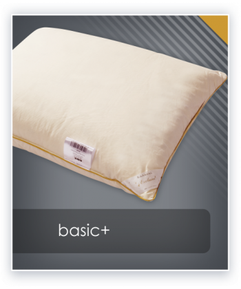 BASIC+ poduszka puch 70%