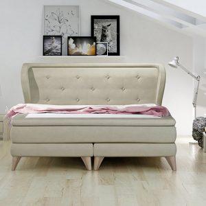 Łóżko kontynentalne ZESTAW 171