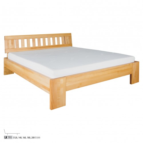 łóżko Bukowe Lk193 Luxmaterac Na Dobry Sen Materace