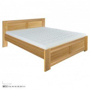 Łóżko dębowe LK212