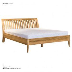 Łóżko dębowe LK291