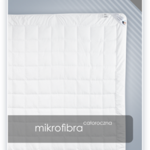 MIKROFIBRA kołdra całoroczna antyalergiczna
