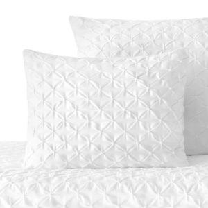 Poszewka na poduszkę dla Pintuck – Biały