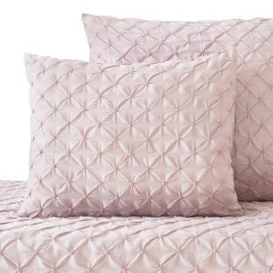 Poszewka na poduszkę dla Pintuck – Pudrowy róż