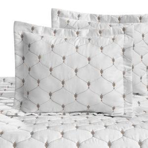 Poszewka na poduszkę dla Versailles – Platynowy