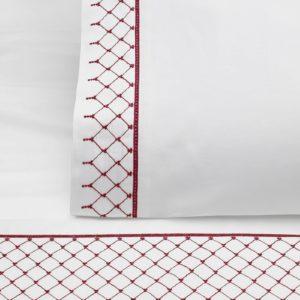 Poszewka na pościel dla Champs – Elysees – Czerwony