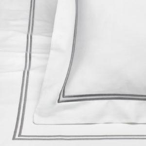 Poszewka na pościel dla 5th Avenue – Srebrno Szary