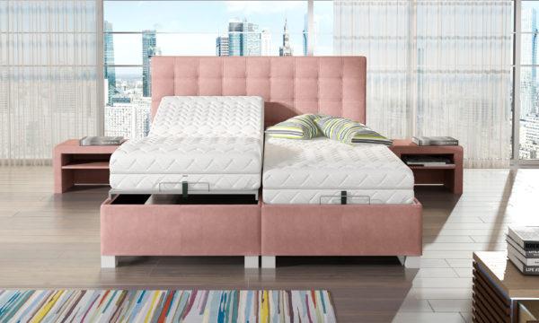 Łóżko tapicerowane KES 40