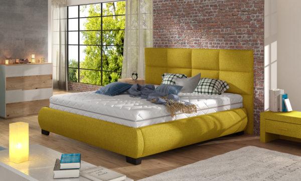 Łóżko tapicerowane KNRM 09
