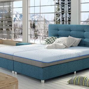 Łóżko tapicerowane KP2 49
