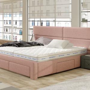 Łóżko tapicerowane KSU 41
