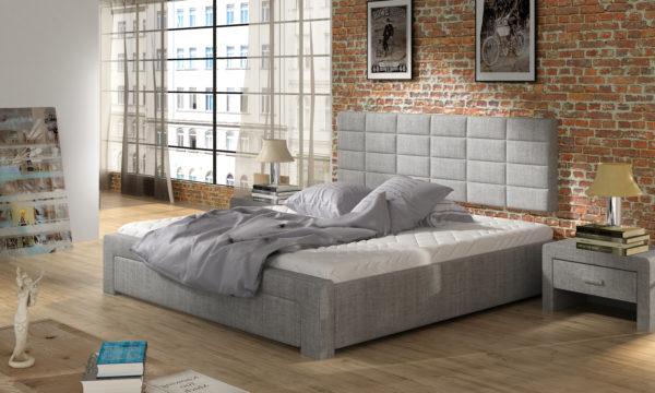 Łóżko tapicerowane KURM 50