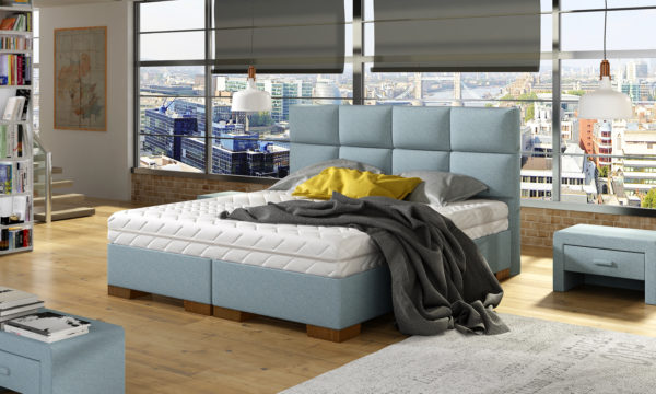 Łóżko tapicerowane TIK 09