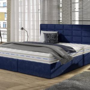 Łóżko tapicerowane TIKS 50