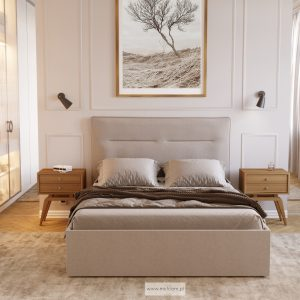 Łóżko tapicerowane KSA 91