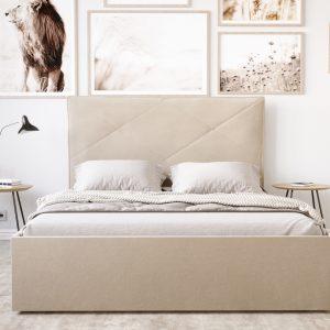 Łóżko tapicerowane KSA 93