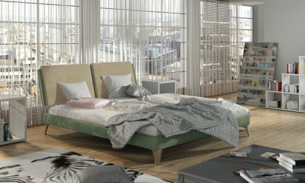 Łóżko tapicerowane 81238