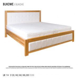 Łóżko bukowe LK114