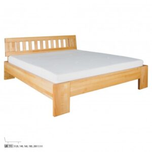 Łóżko bukowe LK193