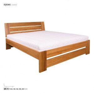 Łóżko dębowe LK292