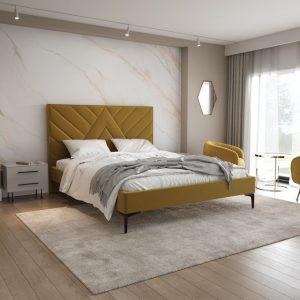 Łóżko tapicerowane 81243
